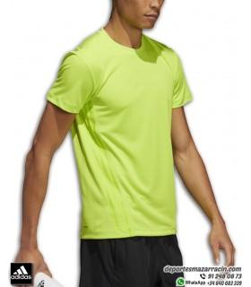 Camiseta ADIDAS AERO 3S TEE Verde Lima