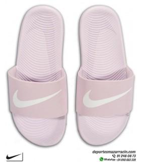 Chancla Nike KAWA SLIDE Lila 819352-501