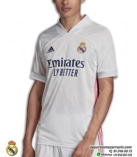 Camiseta REAL MADRID 2020-2021 Blanca