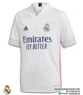 Camiseta REAL MADRID 2020-2021 Blanca Junior
