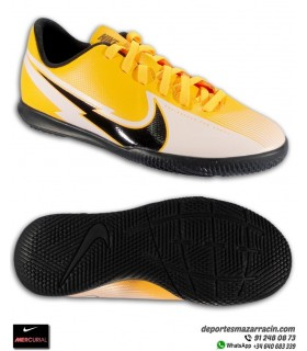 Nike MERCURIAL VAPOR 13 Club Sala Junior Naranja