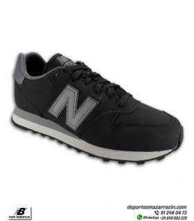 Zapatilla NEW BALANCE 500 Leather Negro