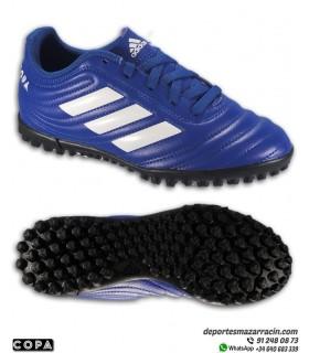 Adidas COPA 20.4 Niño Bota Fútbol Turf Azul