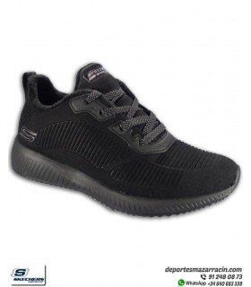 Skechers Mujer BOBS SQUAD TEAM BOBS Negro