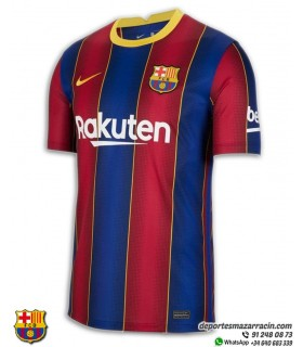 Camiseta F.C. BARCELONA 2020-2021 CD4232-456