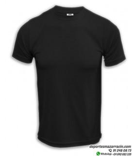 Camiseta Transpirable Deporte COMPETICION Negro