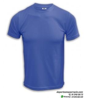 Camiseta Transpirable Deporte COMPETICION Azul