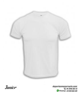 Camiseta Transpirable Niños COMPETICION Blanco