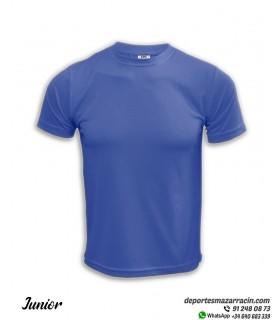 Camiseta Transpirable Niños COMPETICION Azul