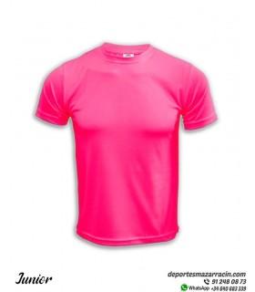 Camiseta Transpirable Niñas COMPETICION Rosa