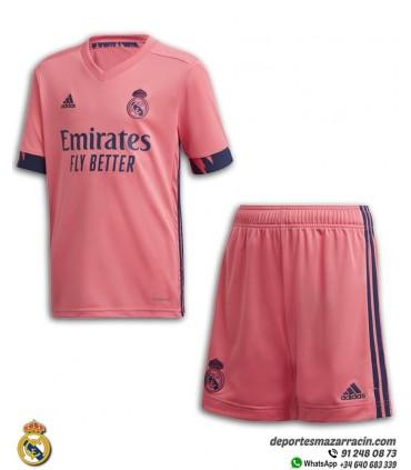 Conjunto REAL MADRID 2020-2021 Rosa Junior