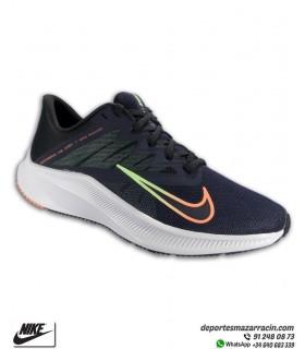Zapatilla Running Nike QUEST 3 Azul Marino