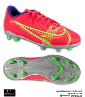 Nike MERCURIAL VAPOR 14 Club Niño Fútbol FGMG Rojo