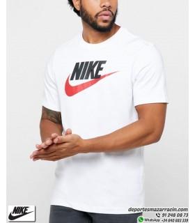 Camiseta NIKE Sportwear Classic Logo Blanco AR5004-100