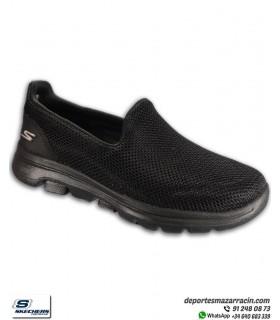 Skechers GO WALK 5 Mujer Negro