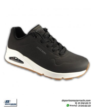 Skechers UNO STAND ON AIR Negro-Blanco