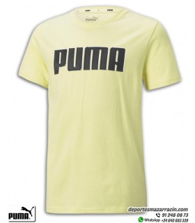 PUMA ALPHA GRAPHIC TEE Camiseta Junior Amarilla