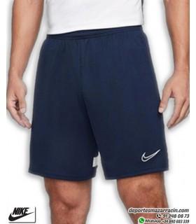 Pantalón Corto NIKE Dri-FIT Academy Knit Soccer Short Azul Marino