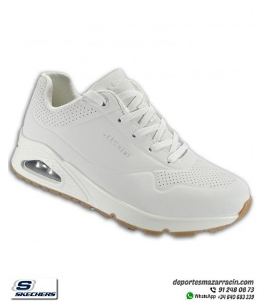 Deportiva Skechers Mujer UNO STAND ON AIR Blanca