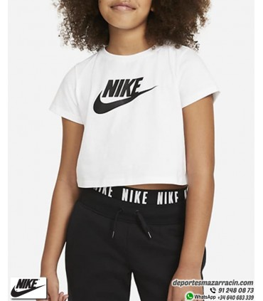 Camiseta Corta NIKE Sportwear Tee Crop Blanca