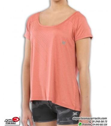 Camiseta Mujer John Smith AURRA Salmon Vigore