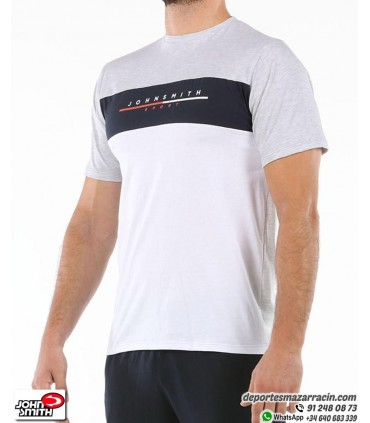 Camiseta Hombre John Smith FERROS Gris