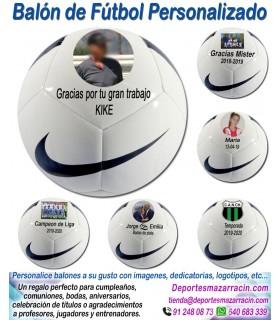 Balón Futbol con imágenes y textos Nike Pitch