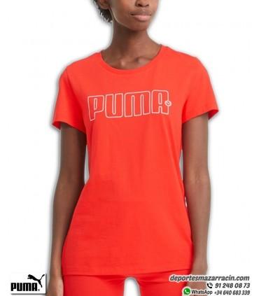 Camiseta Mujer PUMA REBEL GRAPHIC TEE Roja