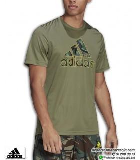Camiseta ADIDAS CAMOUFLAJE Verde