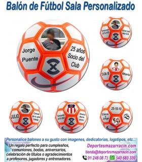 Balón de Futbol Sala PERSONALIZADO Nike