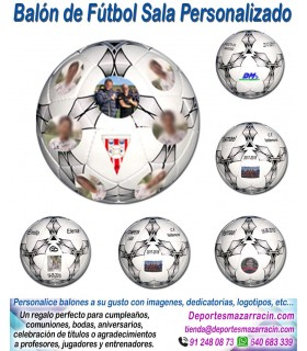 Balón de Futbol Sala PERSONALIZADO Mikasa