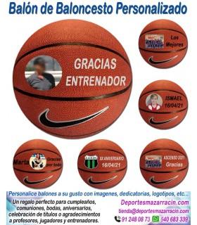 Balón de Baloncesto PERSONALIZADO Nike