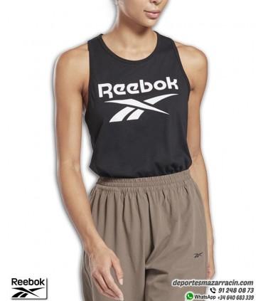 Camiseta Tirantes Mujer REEBOK Identity Tank Negro