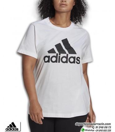 Camiseta Mujer ADIDAS Must Haves Badge Blanca