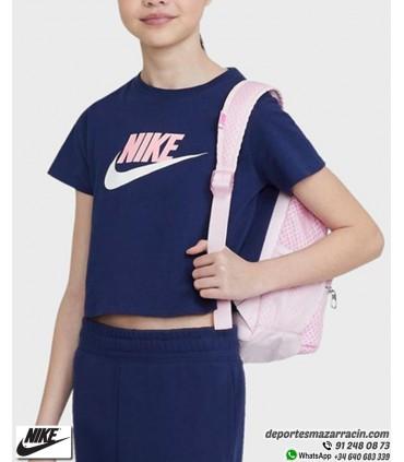 Camiseta Corta NIKE Sportwear Tee Crop Marino