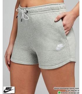 Pantalón Corto Mujer NIKE Sportwear Essential Gris