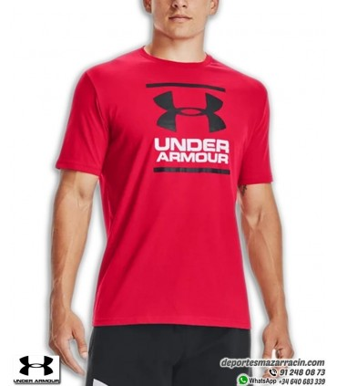 Camiseta Under Armour GL Foundation Roja