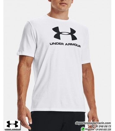 Camiseta Under Armour SPORTSTYLE LOGO Blanco