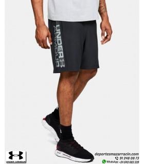 Pantalón Corto UNDER ARMOUR Graphic Wordmark Negro