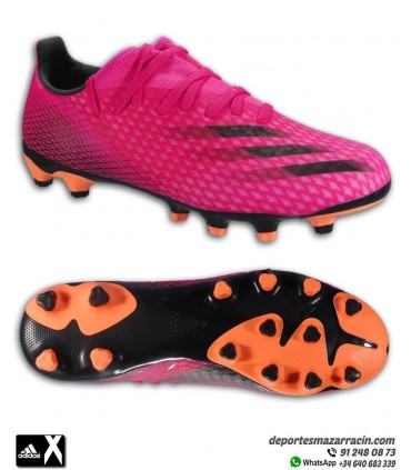 Bota Fútbol adidas X GHOSTED 3 Rosa