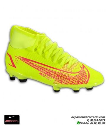 Nike MERCURIAL SUPERFLY 8 Club Niño FGMG Amarilla