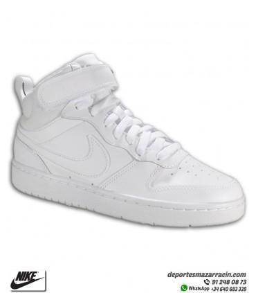 Bota Nike COURT BOROUGH MID 2 Sneakers Blanca