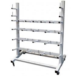 soporte de pesas y barras WORKPOWER softee gimnasio fitness