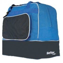 Bolsa de deporte softee TEAM azul-negro