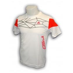 camiseta Adidas deporte de Junior 2012 YB F50 TEE X30857