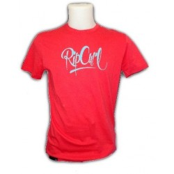 camiseta Rip Curl de hombre 2012 SCRIT FONT