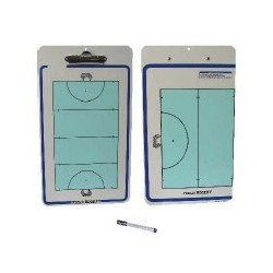Carpeta tactica hockey reversible ABS