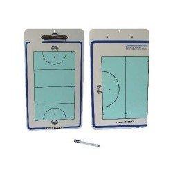 Carpeta tactica hockey reversible ABS