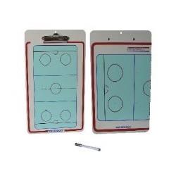 Carpeta tactica hockey hielo reversible ABS