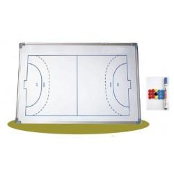 pizarra tactica futbol sala / balonmano magnetica